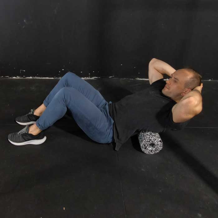 foam roll thoracic spine