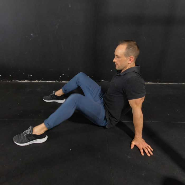 hip drops exercise