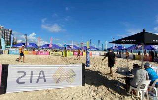 Australian beach volleyball tour finals in coolangatta