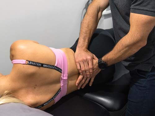 chiropractic treatment of the low back