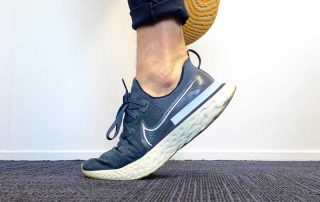 toe raise test for plantar heel pain