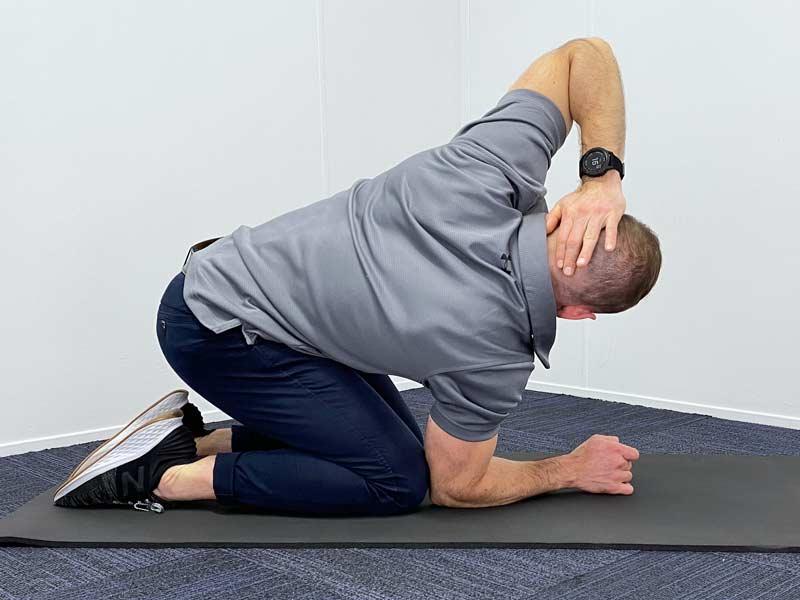 thoracic spine mid-back rehabilitation
